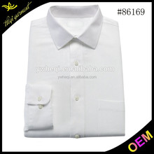 High Quality Workmanship % 100 Cotton mens dress shirt and pants with white