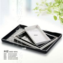 Factory Wholesale Restaurant and Hotel use Melamine compact vibrator plate
