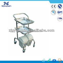 Small Hospital Treatment Trolley/Cart for Dressing Change(YXZ-A030)