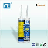 FL Silicone Main Raw Material and Other Adhesives Classification Red glass silicone sealant 280ml
