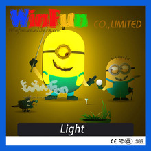 2014 Hot Selling Minion Bedroom Night Lamp Night Lamp For Kids