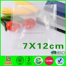 fruit and vegetables packaging materials vacuum plastic bag for sale