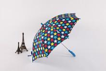 Honsen child umbrella with lace best quality children umbrella with dog print ear