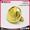 Artigifts Hot selling metal cufflinks