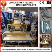 CE certified pvc celuka foam board to replace MDF manufacturing machine