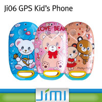 JIMI Hot Sell mini portable track your kids cell phone for free with sos button for emergency and 2.4 GHz RFID for student atte
