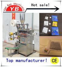 Shanghai Manfacture good price YB-180C 3-15 grams Automatic small sachet Tea bag Packing Machine with CE certificate