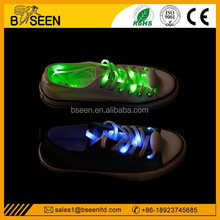 Super bright led shoelaces lighted shoestrings waterproof nylon strings