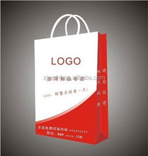 2015 fashion cartoon kraft paper bag/ health bread paper bag/ gold foiled paper bag