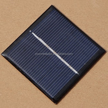 Factory Directly 54*54*3MM 0.45W 3V Epoxy Solar Panels For DIY Toys