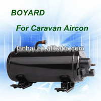CE ROHS R410A R407C tractor air conditioning vehicle mounted compressors for small motor home car caravan