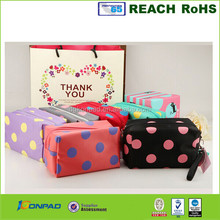 fashion PU cosmetic pencil bag pouch and make up bag case