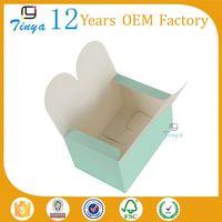 cheap custom design wax coated paper food box