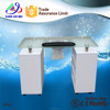 glass furniture used nail salon equipment for nail table (N015)