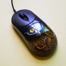 2015 Fashion Flat Wired Optical Mouse MB1003S03