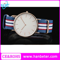Top quality japan movt nylon strap alibaba hot sale fancy mens brand watch