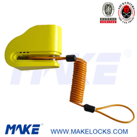 MK617-5 Colorful 110dB Alarm Vehicle Lock