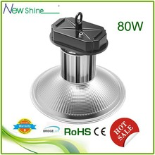 waterproof high voltage outdoor 80w led high bay