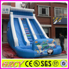 Popular new style backyard inflatable water slides