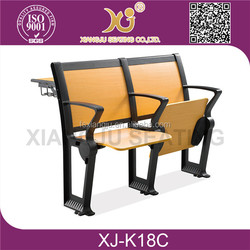 University combo school chair and desk XJ-K18C