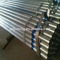 negro de carbono tubos de acero de peso
