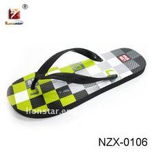 2012 New Design Men's Rubber PE Flip-flops Slipper