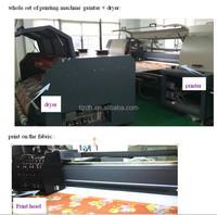 High speed digital fabric printing machine with SG print head 1.8M
