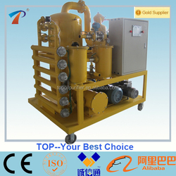 Double-Stage Vacuum Transformer Oil Purification Systems/Transformer oil dehydration and degasification machine