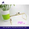 High quality fashion gold clutch purse frame manufacturers