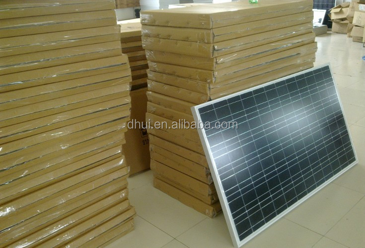 Price Per Watt Solar Panels 100W 12V Polycrystalline