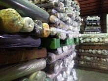 Latest 100% Cotton yarn dyed Plain fabric stocks