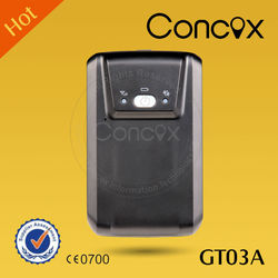 Concox best seller GT03A High quality China Car tracker systems with CE certification