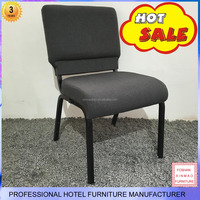 XM-C062 Foshan modern design metal stackable used church chairs for sale