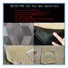car accessory PU material HD and LD plastic materials 2014 factory hot selling pvc car mat raw material