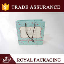 Lovely Light Blue Paper Gift Bag and Same Style Series Gift Box
