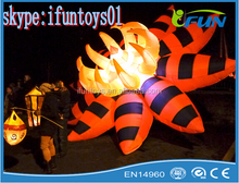 lighting flower for Halloween festival inflatable