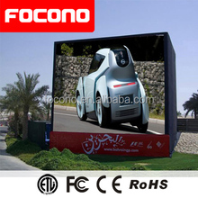Safe Structure Full Color Iron Aluminium Alloy Case Outdoor P10 LED Display