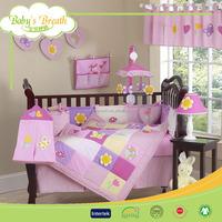 BBS028 cotton fabric children 2013 gymnastic angel bedding set, forzen bedding set kids