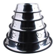Pet accessories dog feeder pet feeder stainless steel pet bowl