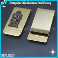 Best Selling wallet money clip/18k gold money clips/Hot sales Masonic money clip