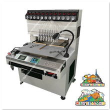 Easy operation 12 clolor PVC refrigerator magnets making machine