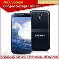 Original doogee dg300 de doble núcleo de teléfonos celulares 5.0 ips pulgadas teléfono móvil de las marcas