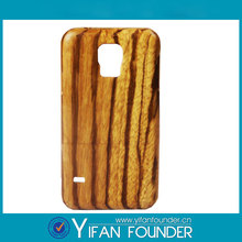 Wholesale wood case for samsung galaxy S5,For samsung galaxy S5 Eco-friendly wood case