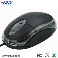 cheap mini optical wired mouse with different colors