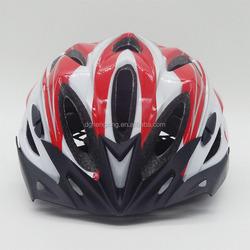 EPS foam bike adult helmets with flashing led tail light