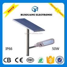2015 Good Quality Best Sale 50W Solar LED Street Light
