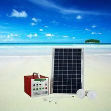 Top grade new arrival 10w handy solar power system