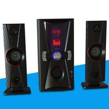 2.1 Active Computer Speaker with USB,SD,Bluetooth,Mic,FM Function