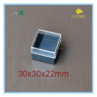 30*30*22mm very clear plastic jewelry packaging boxes