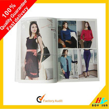 Good quality Full color printing catalogue